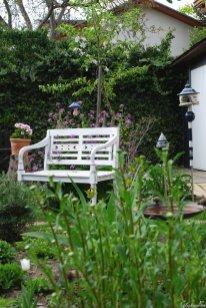 Der einladende und offene Vorgarten
