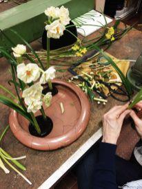 Ikebana-Workshops machen Spaß