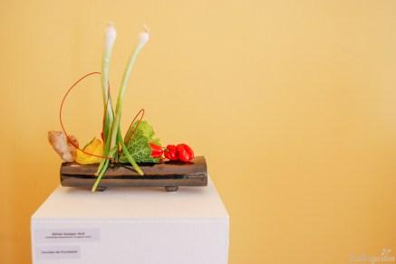 Bärbel Seeliger-Wolf ist überzeugt: Gemüse als Kunstwerk