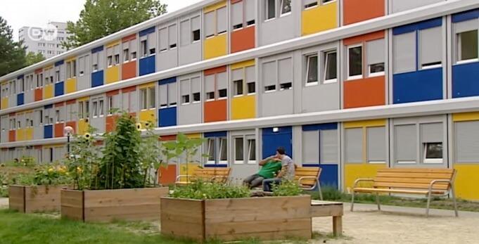 26 geplante Asylheime modulare bauten