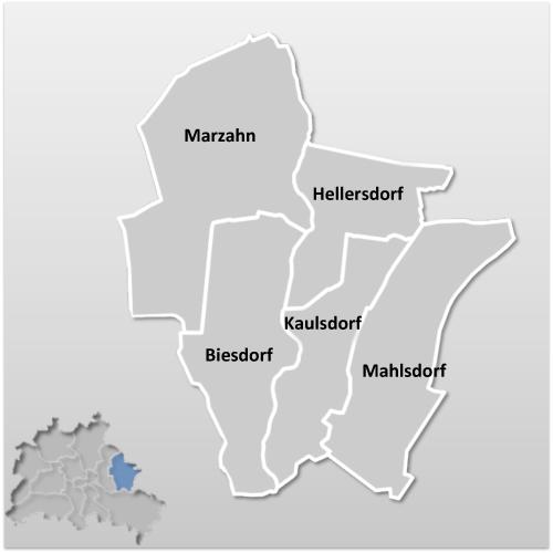 Bezirk Berlin MarzahnHellersdorf  Berlinstadtservice