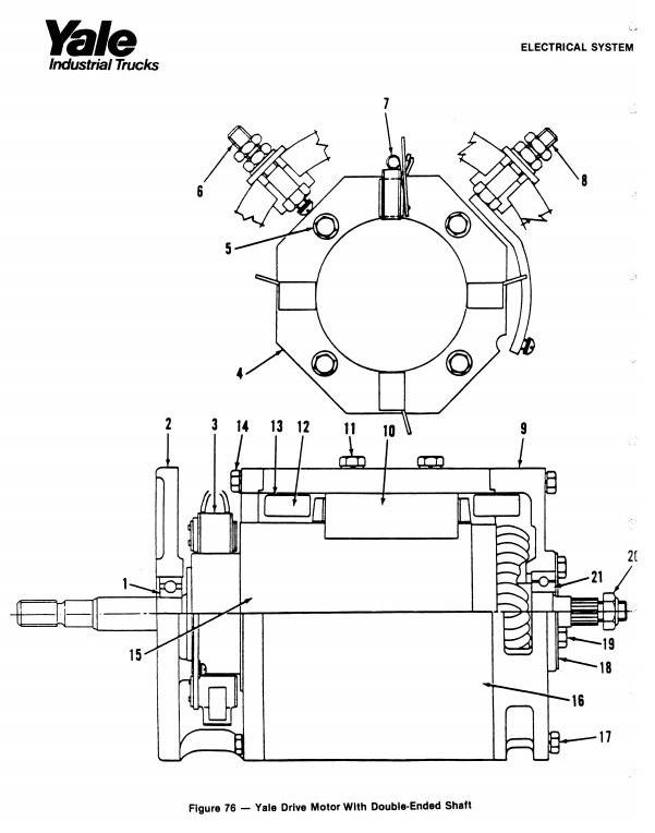 Yale OS030BB, SS030BB High Lift Order Selector Workshop