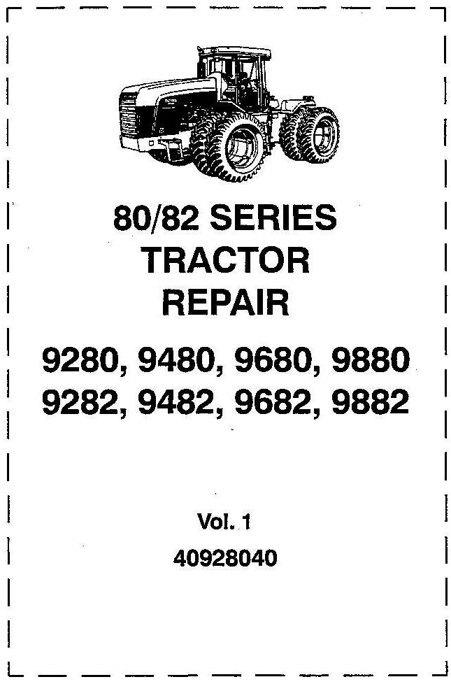 Ford 9280,9480,9680,9880,9282,9482,9682,9882 Complete