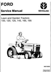 Ford YT12.5, YT14, YT16, YT16H, YT18H Yard Tractors and