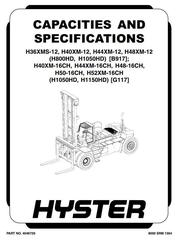 Hyster Container Handler Service Maintenance Repair
