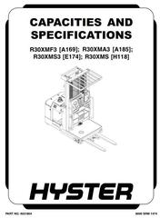 Hyster Reach, Stacker, Walker, Rider, Racker Service