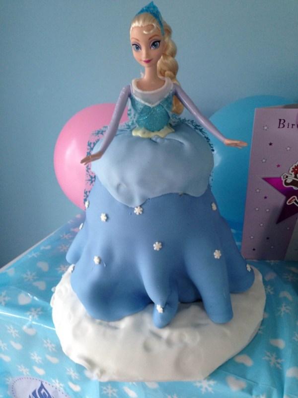 Elsa Torte aus Fantakuchen