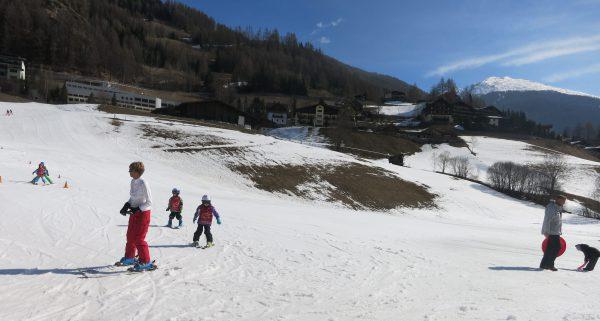 Skikindergarten der 5-Jährigen