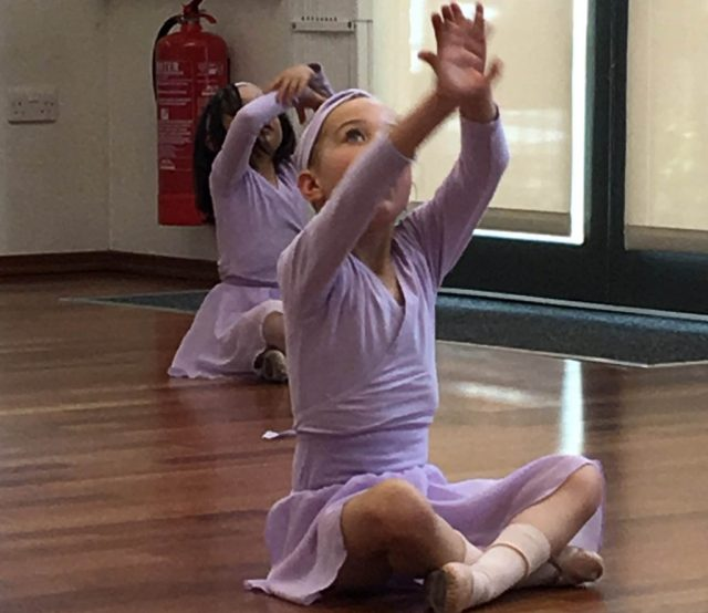 Ballett-Stunde in London