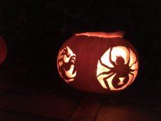 Halloweenkürbis in London