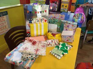 Geburtstagsparty im Indoorspielplatz
