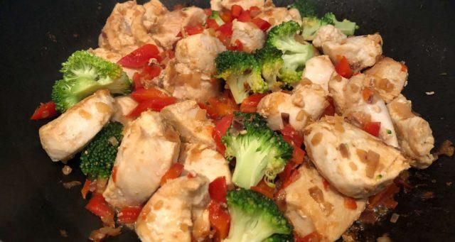 Hähnchenpfanne mit Gemüse