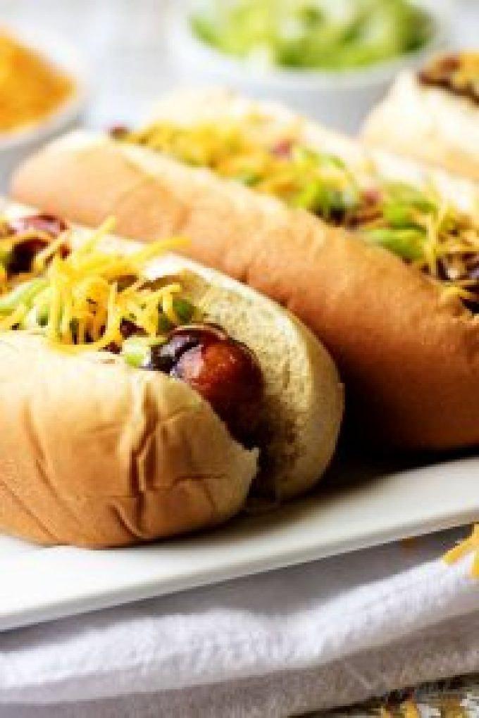 A quick and easy Memphis-Style BBQ dog, that takes only six ingredients and has all the flavor of a sweet and spicy gourmet hotdog.