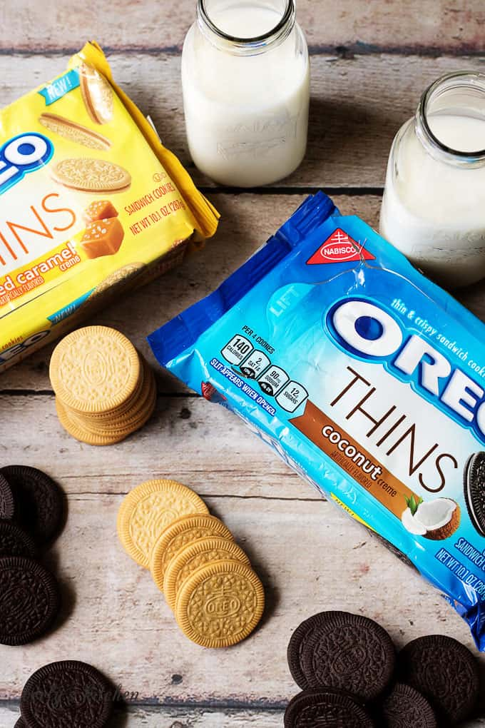Our banana cream pie OREO is our cookie creation. What's your unique idea for the #MyOREOCreation contest? Submit your idea for a chance to win!