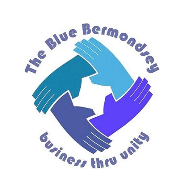 Blue Bermondsey Logo