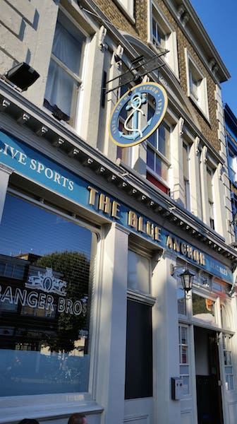 Blue Bermondsey Pubs The Blue Anchor
