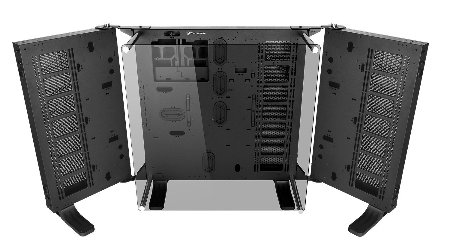 lcs gaming chair cypress adirondack chairs thermaltake core p7 tg modular full tower e atx chassis