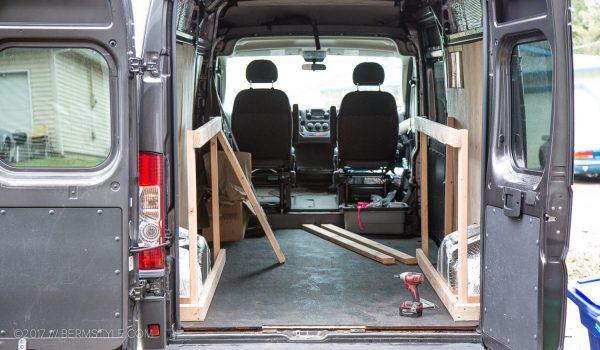 Dodge Promaster Van Bed Conversions Diy - Year of Clean Water
