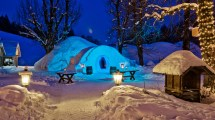 Overnight Igloo Hotel - Bern Tourism