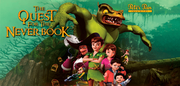 ▷ Descargar Peter Pan: La búsqueda del libro de Nunca Jamás (2018) HD 1080p Latino (Bluray Rip) ✅