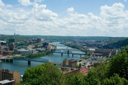 The Monongahela River Valley.