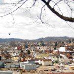 small town off of bluff