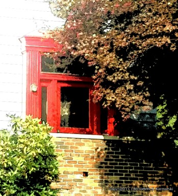 Just an interesting doorway on one of the houses.