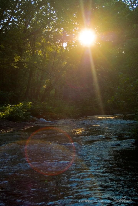 Summer Sunset, On the Run