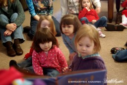 Storytime in the Children's Area