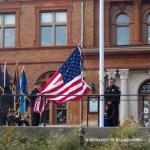 Starting the flag.