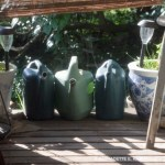Watering cans at the ready