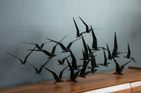 15 Best Ideas of Metal Flying Birds Wall Art