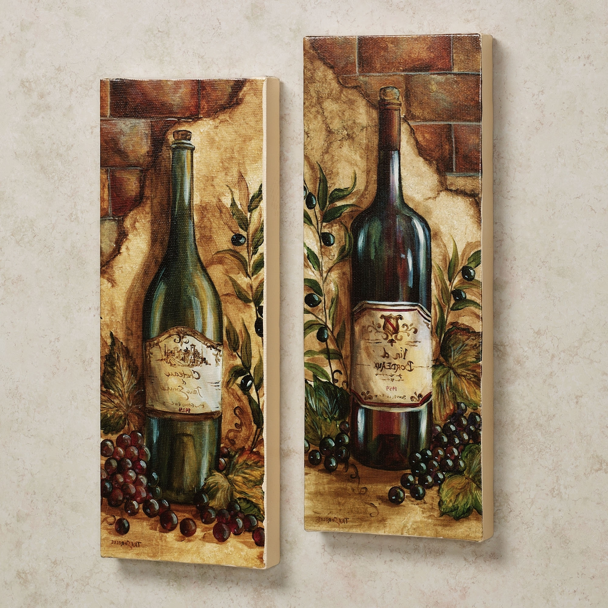grapes and wine kitchen decor best floors for kitchens 15 inspirations of grape wall art
