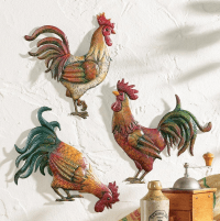 15 Best Metal Rooster Wall Decor