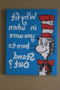 15 Best Collection of Dr Seuss Canvas Wall Art