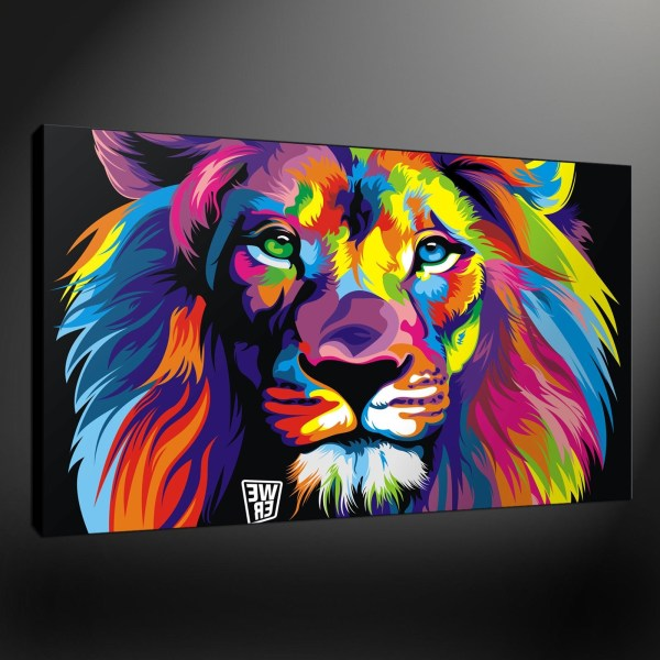 Abstract Animal Wall Art