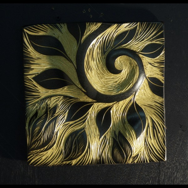 Abstract Ceramic Wall Art