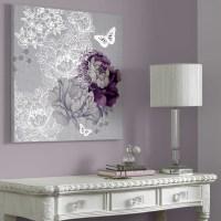 2018 Best of Purple Wall Art For Bedroom