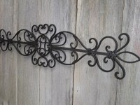 Awesome Picture of Outdoor Wrought Iron Wall Art ...