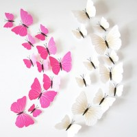 15 Inspirations of Diy 3D Butterfly Wall Art