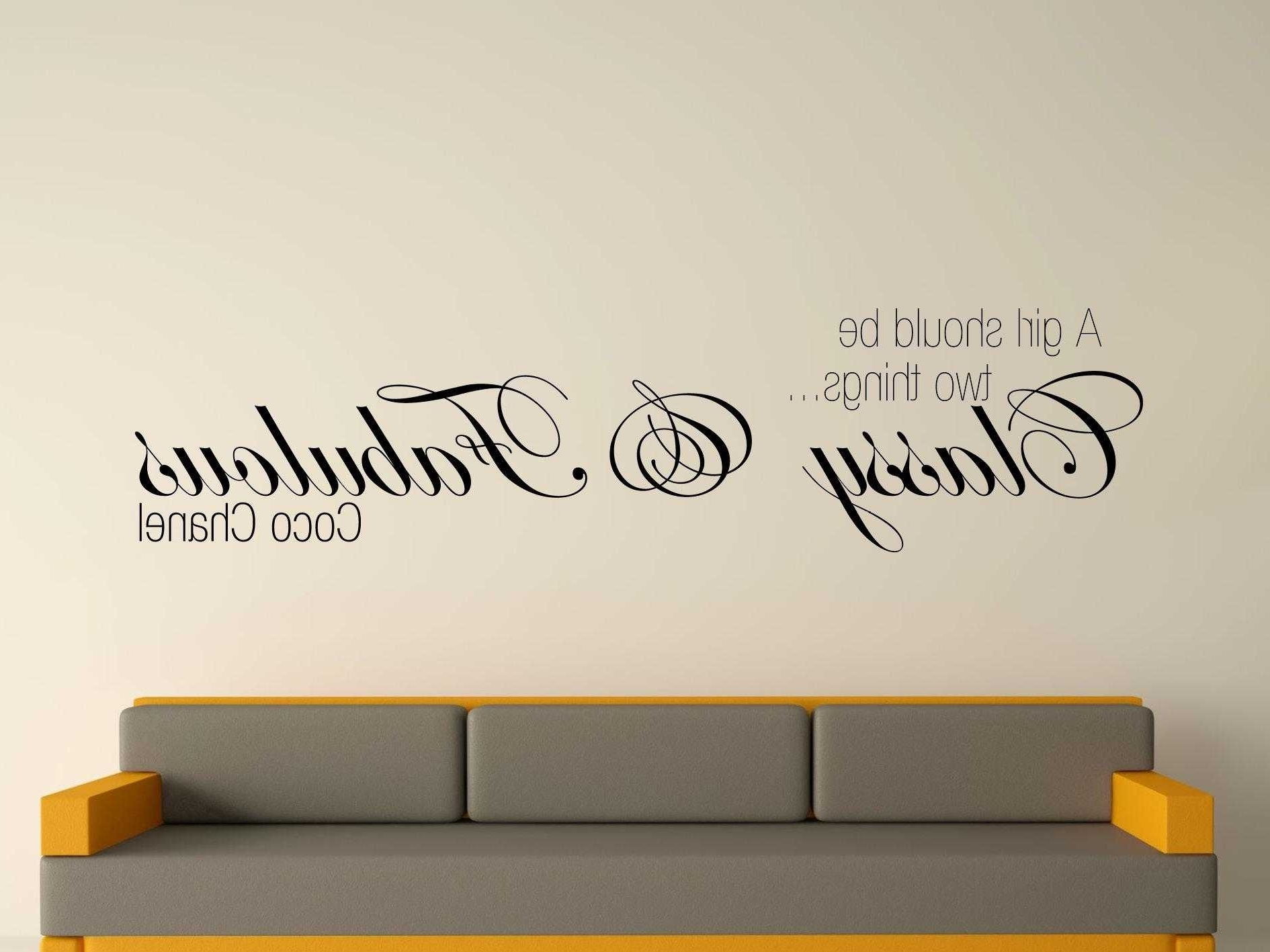 15 best coco chanel wall stickers