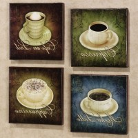 15 The Best Cafe Latte Kitchen Wall Art