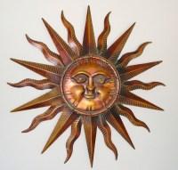 Metal Sun Wall Art - ideasplataforma.com
