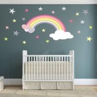 Rainbow Wall Decal - ideasplataforma.com