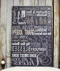 Catchy Collections of Custom Name Wall Art - Fabulous ...