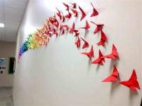 Best 15+ of Diy Origami Wall Art