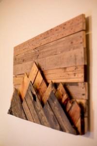 15 Inspirations of Natural Wood Wall Art