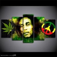 Top 15 of Bob Marley Canvas Wall Art