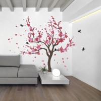 Cherry Blossom Wall Art - ideasplataforma.com
