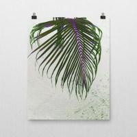 2018 Popular Palm Leaf Wall Art
